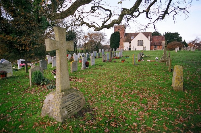 Sir Arthur Conan Doyle, creator of Sherlock Holmes, is buried in Minstead churchyard, near Lyndhurst.