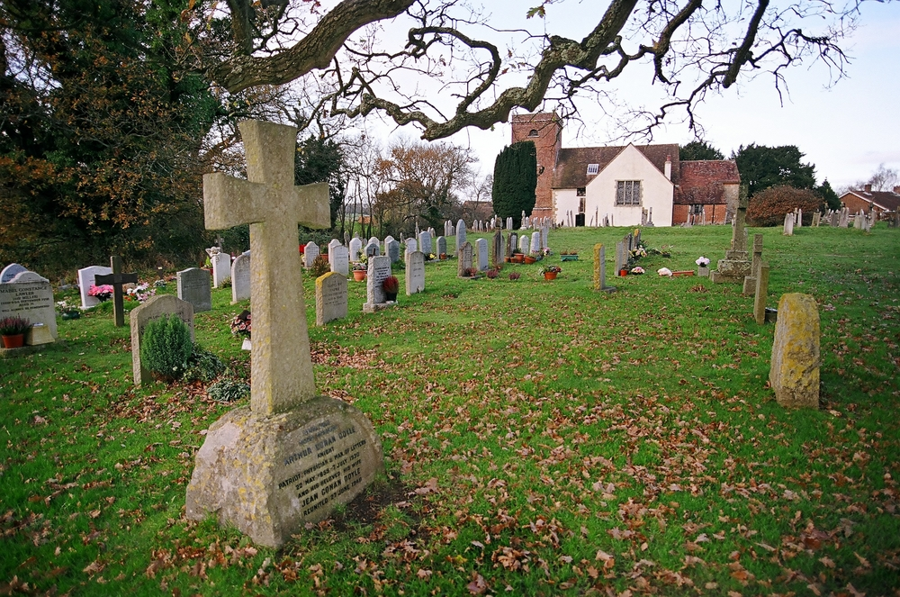 Churchyards were used by smugglers to hide contraband because people were frightened of these places at night.