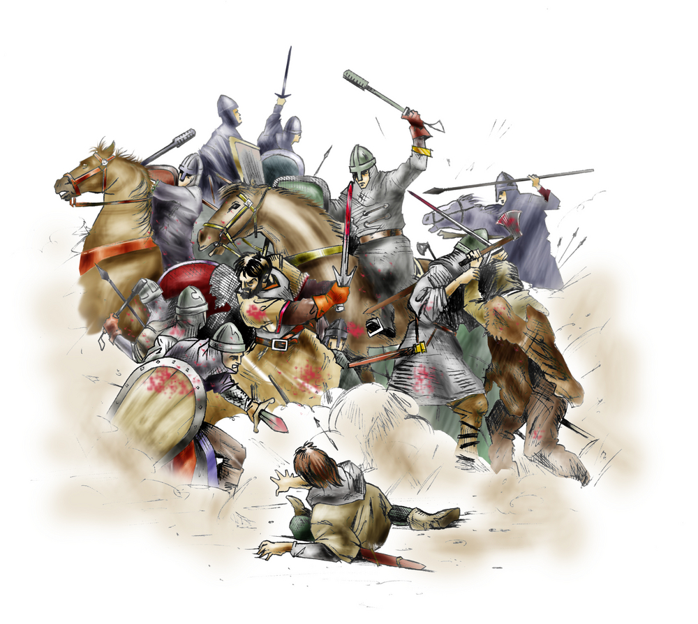 Medieval hunting was used as a practice for warfare, where knights could practice their skills.